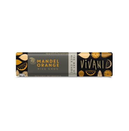 Vivani Ljus Mandel & Apelsin eko, mjölkfri