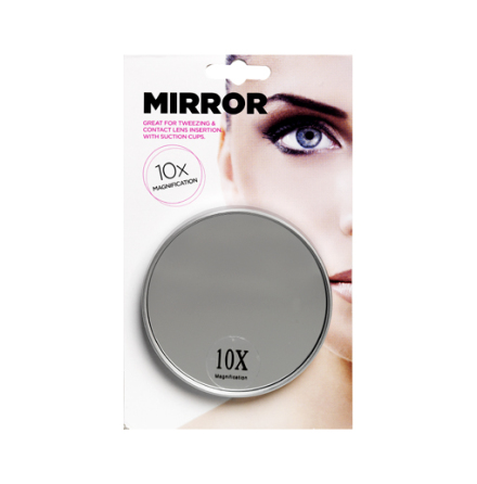 Smink/förstoringsspegel liten x10