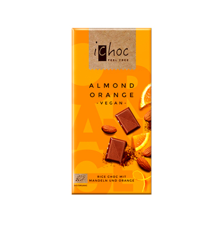 ichoc choklad, Almond orange