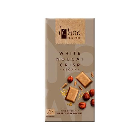 ichoc choklad, White nougat crisp