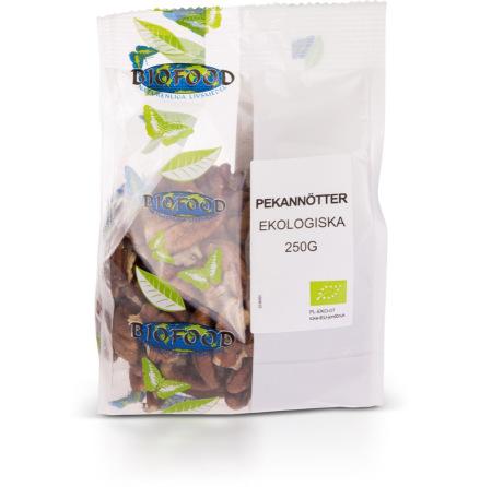 Pekannötter, ekologiska