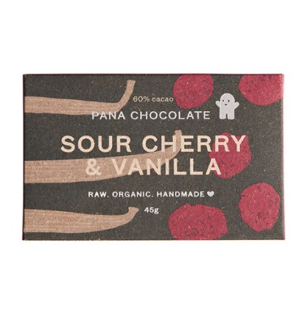 Sour Cherry & Vanilla, Pana Chocolate