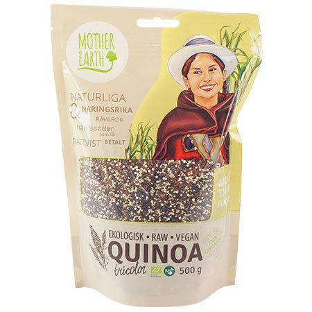 Quinoa tricolor, ekologisk.