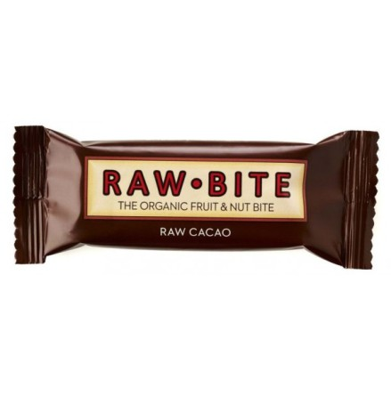 RawBite Choklad, Frukt & Nötbar 50g