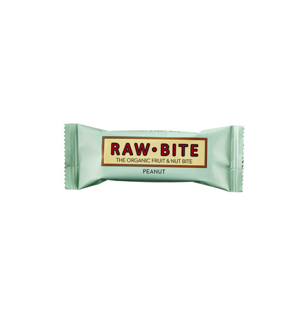 RawBite Jordnöt, Frukt & Nötbar