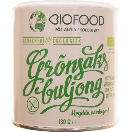 Grönsaksbuljong, Biofood