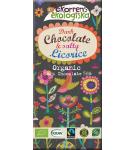 Ekorrens Mörk choklad med saltlakrits, ekologisk