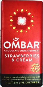 Ombar Choklad Jordgubb, Eko & Raw
